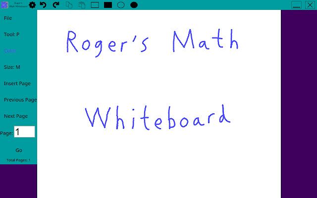 Roger's Math Whiteboard