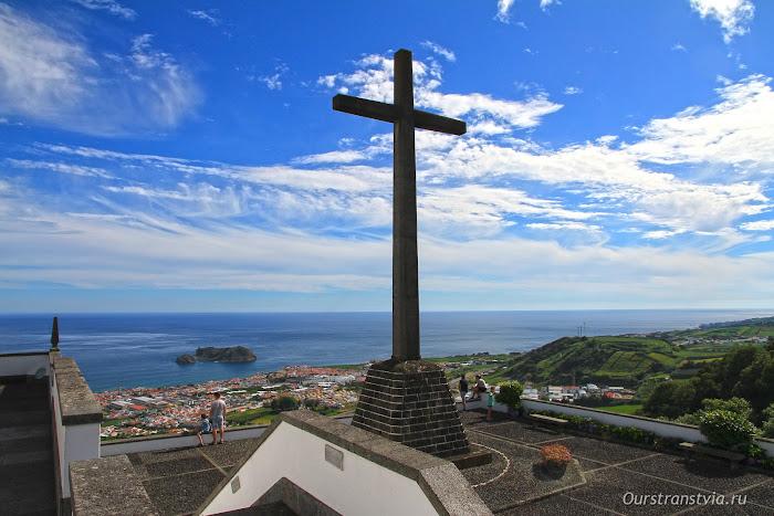Вид с мирадоро Ermida de Nossa Senhora da Paz