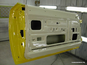 Photo: 70 charger inside door with its slighly dirty white cream color