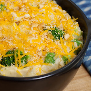 Chicken, Broccoli, Cheese and Rice Casserole