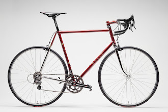 Photo: Complete bike with Campy Super Record 11.  Thanks to Pete from COG magazine for the great photo!