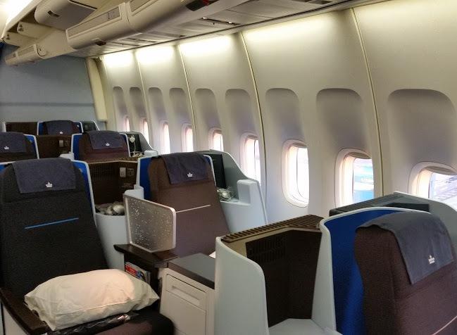 Surprising Airline Review Klm Royal Dutch Airlines Business Class Frankydiablos Diy Chair Ideas Frankydiabloscom