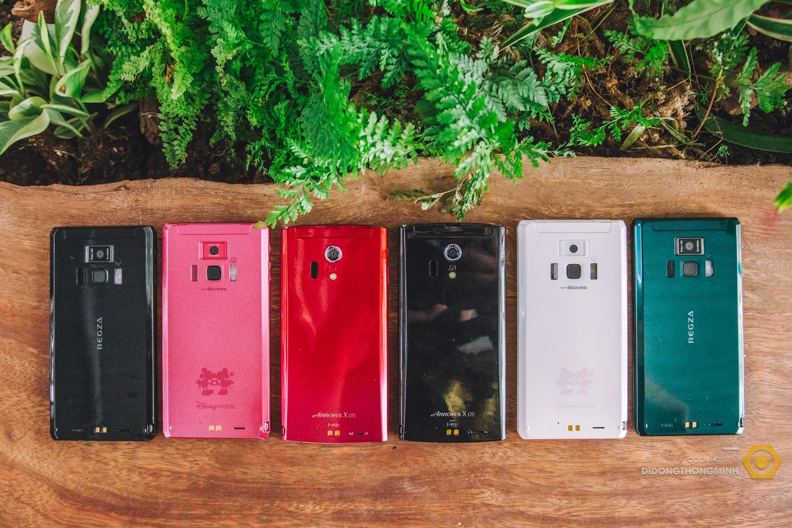 Docomo Regza Fujitsu F 08D - Smartphone tốt nhất giá dưới 1 triệu