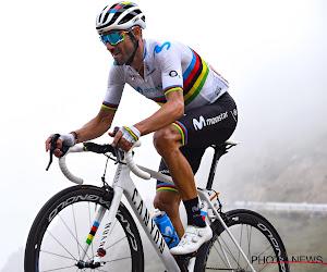 """Valverde slaat niet in paniek na tijdsverlies bergop: """"Er is het terrein om de Vuelta te winnen"""""""