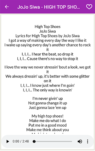Jojo Siwa - All Song and Lyrics
