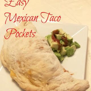 Easy Mexican Taco Pocket