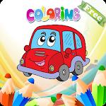 Coloriage des enfants Voitures Icon