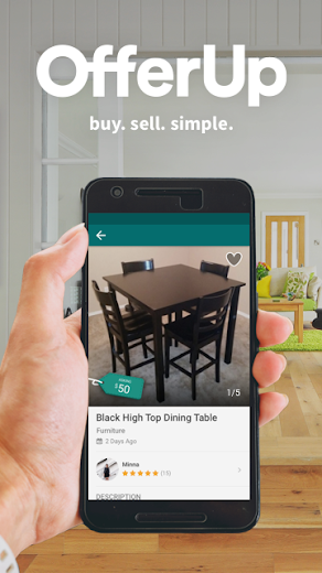 Screenshot 0 for OfferUp's Android app'