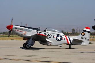 Photo: North American TF-51D Mustang (vysoká směrovka)