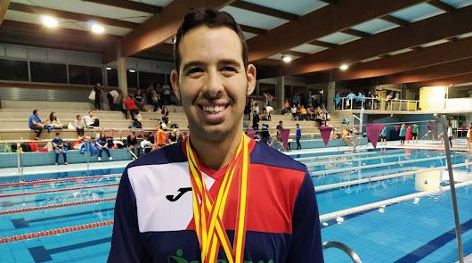 Carlos Tejada, mayoría de edad como nadador paralímpico
