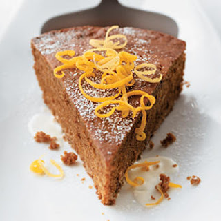 Warm Gingerbread Cake