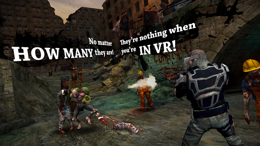 VR DEAD TARGET: Zombie Intensified game (apk) free download for Android/PC/Windows screenshot