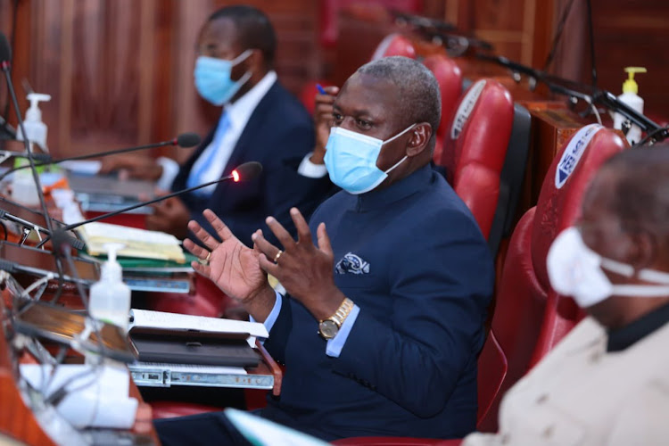 Rarieda MP Otiende Amollo during a past JLAC session.