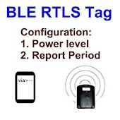 BLE RTLS Tag configuration Software