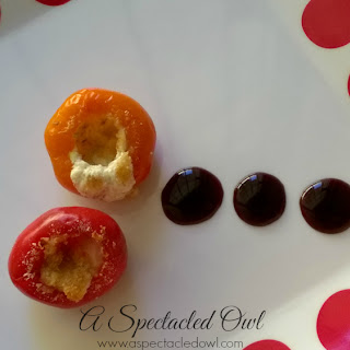 Feta & Goat Cheese Stuffed Peppadew Peppers