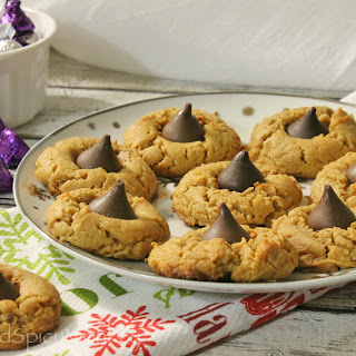 GF Peanut Butter Blossoms {Dairy-Free}.