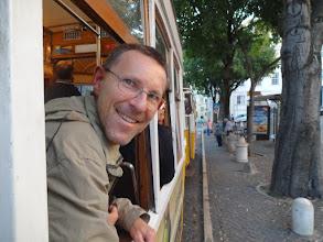 Photo: in der Straßenbahn