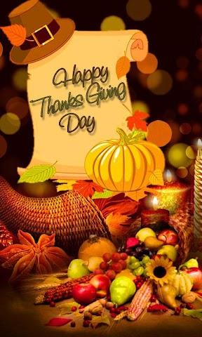 android Thanksgiving Day Wallpaper Screenshot 1