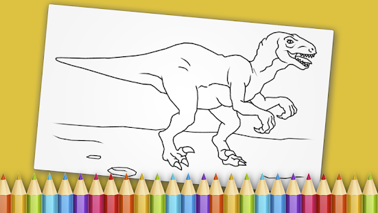 Dinosaurs Coloring Book Game - náhled