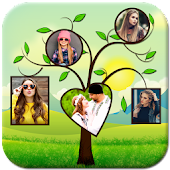 Tree Collage Photo Frame