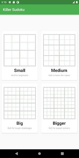 Killer Sudoku 0.11.4 screenshots 1