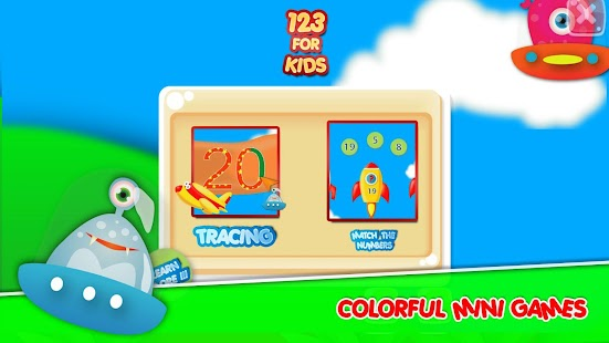 Numbers 123: write 1 to 20 kids tracing - náhled