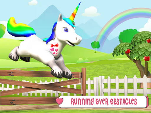 Baby Unicorn Horse Life : Pony Jungle Survival 1.0.5 screenshots 6