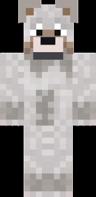 a wolfy skin