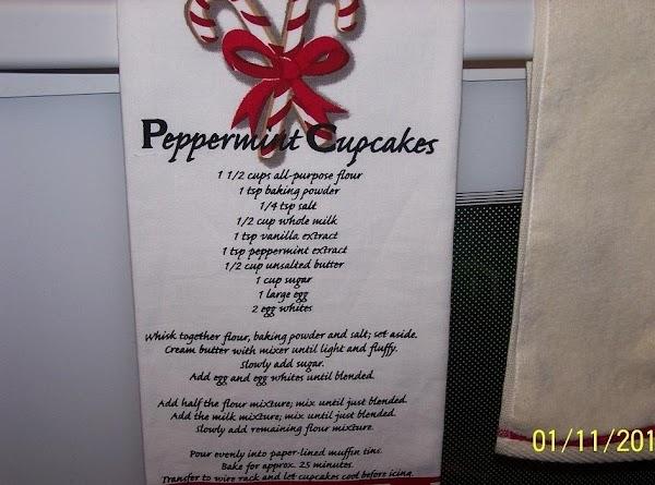 Peppermint Cupcakes Recipe