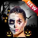Halloween 2019 Makeup Photo Editor icon