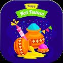Happy Holi Video Maker - Dhuleti Video Status 2021 icon