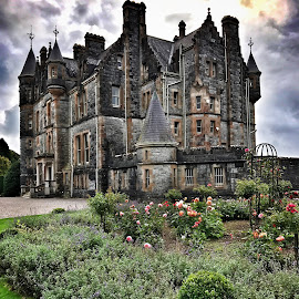Blarney Castle Reaidence by Darrell Portz - Buildings & Architecture Homes ( ireland, residence, blarney castle, iphone, blarney )