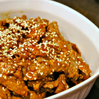 Korean Marinated Beef