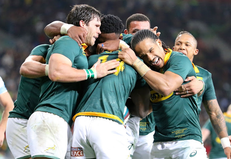 The Springboks. File Picture: GALLO IMAGES
