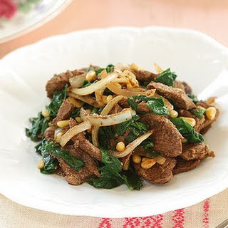 Lamb And Spinach Stir-fry