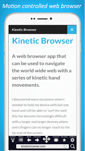 Kinetic Browser HD - náhled
