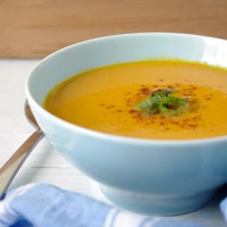 Blender Thai Pumpkin Soup (vegan & gluten free!).