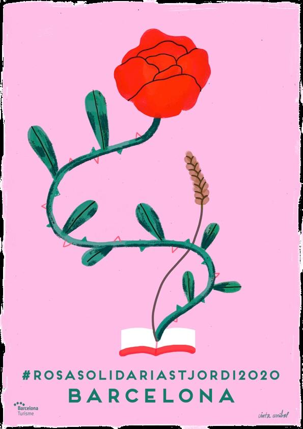 Rosa Solidaria Sant Jordi 2020