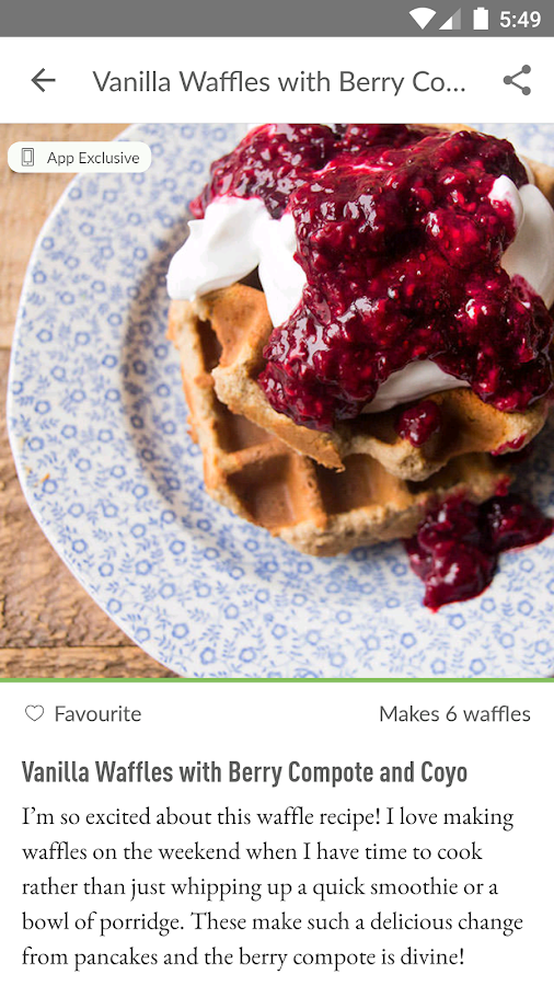 Deliciously Ella- screenshot