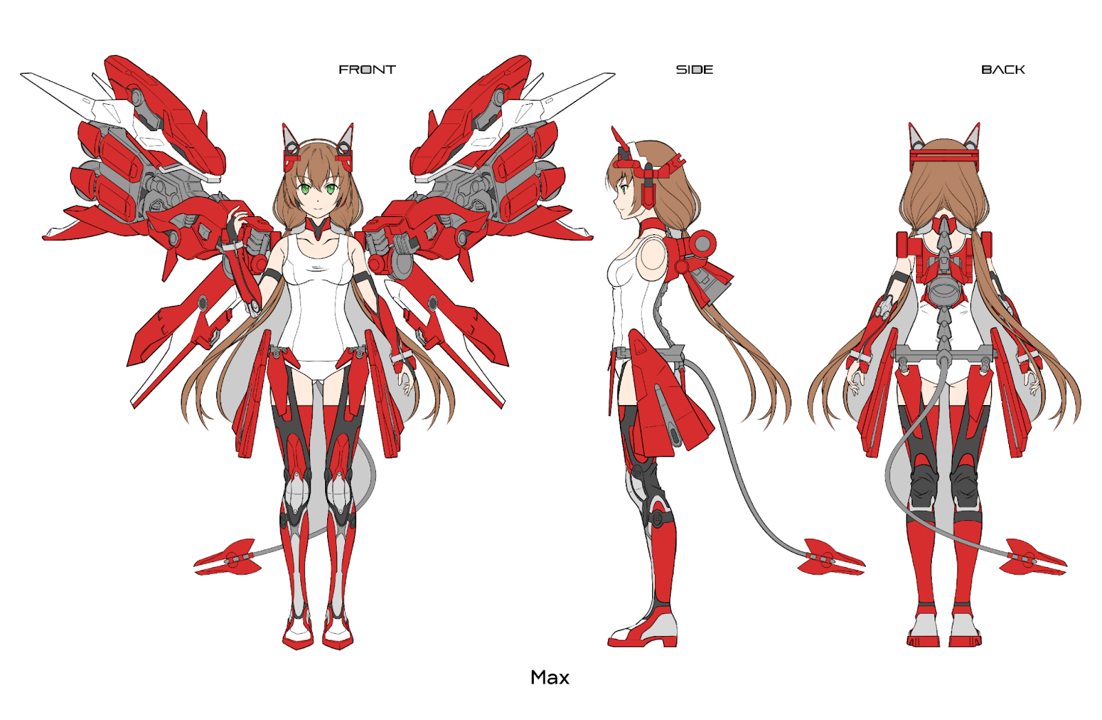 Anime Expo Mascot: Max