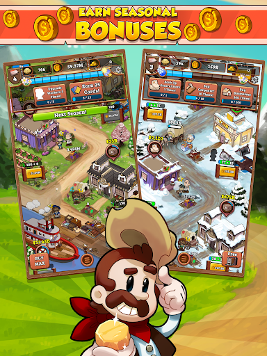 Idle Frontier: Tap Town Tycoon - screenshot