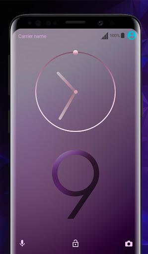 Galaxy S9 purple | Xperia™ Theme Premium 이미지[3]