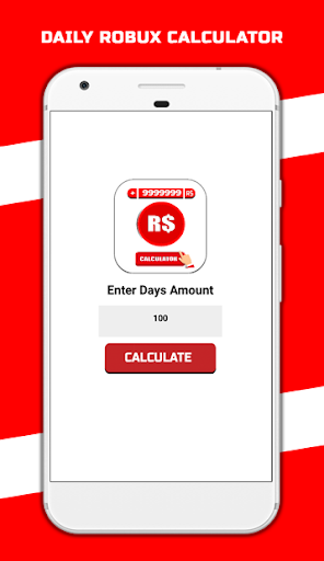 Free Robux Calculator For Roblox 2020 Apk By Developed Inside