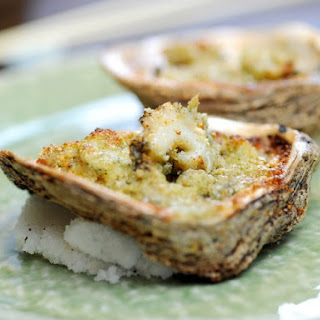 Baked Oysters Cheese Recipes.