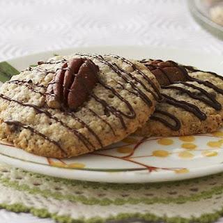 Chocolate Pecan Cookies.