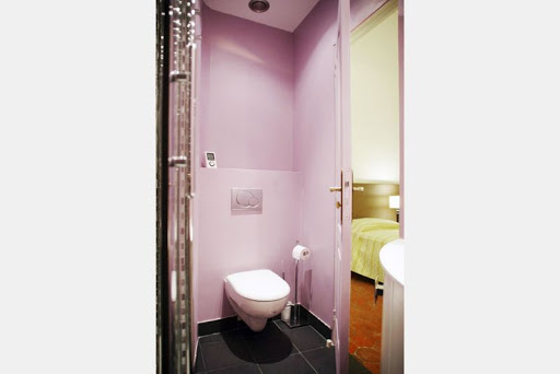 Toilet at 2 Bedroom Apartment in Louvre Near Seine