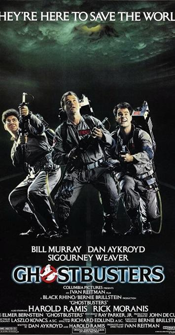 ghostbusters 1 poster
