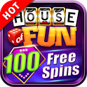Free Slots Casino Games - House of Fun by Playtika icon