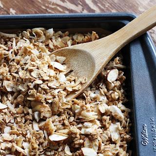 Toasted Coconut Almond Granola