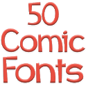 Fonts for FlipFont 50 Comic icon